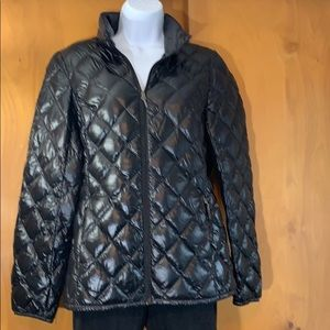 32 degrees ladies black packable down jacket small